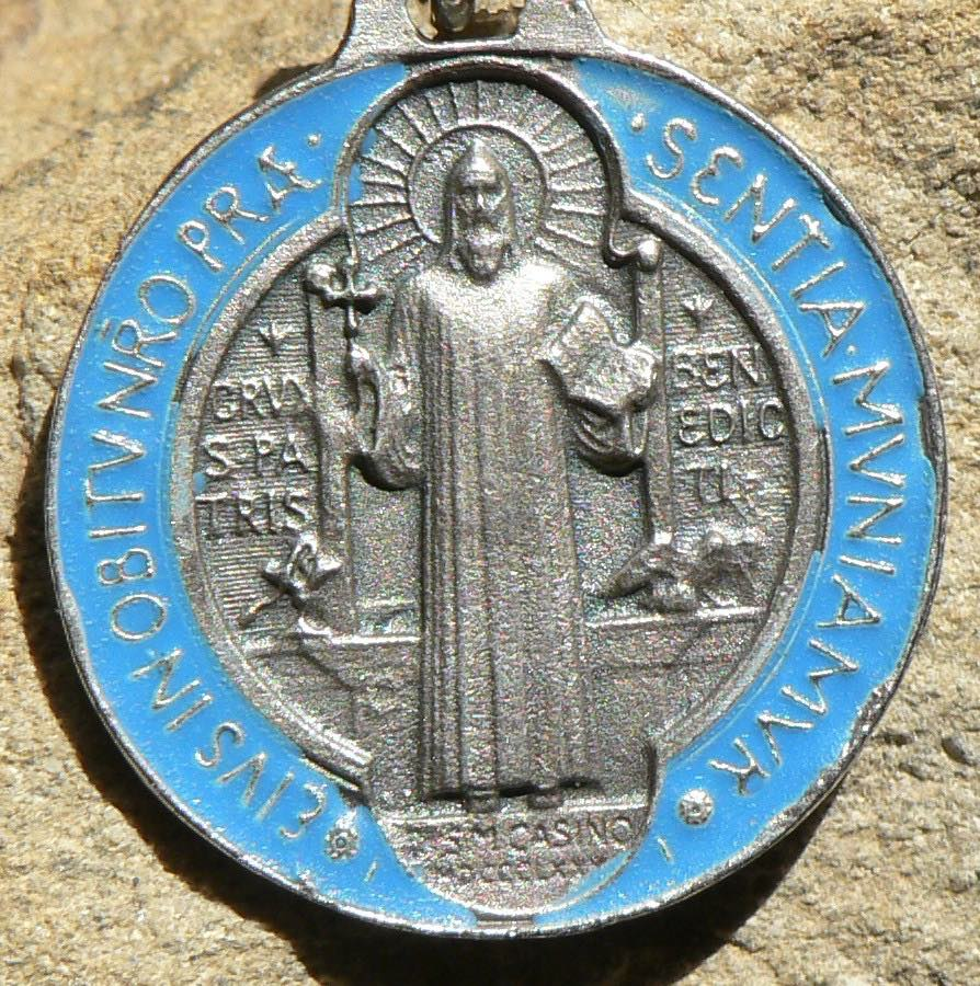 Benediktusmedaille, Talisman, Benediktus, Segen, Benediktusschild ,