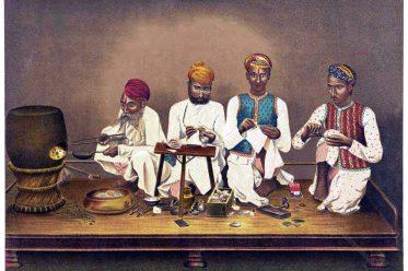 Emailleure, Jaipur, Indien, Kunsthandwerk,