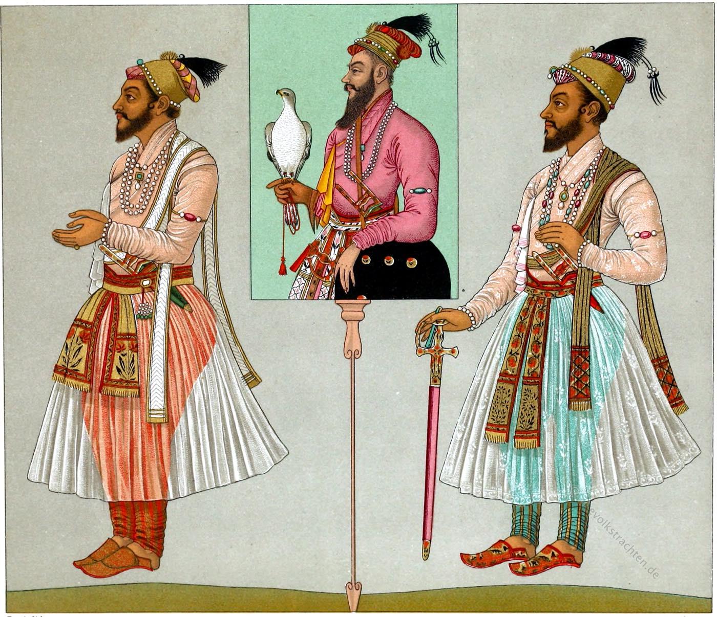 Indien, Rajpute, Großmogul, Mogulkaiser,