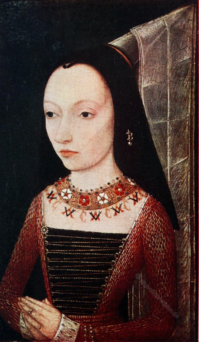Margarete von York, Burgund, Mittelalter, Hennin