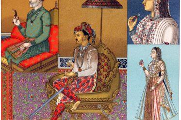 Mogul, Herrscher, Indien, Kostüm, Tamerlan, Djehanguir, Schah Djehander,