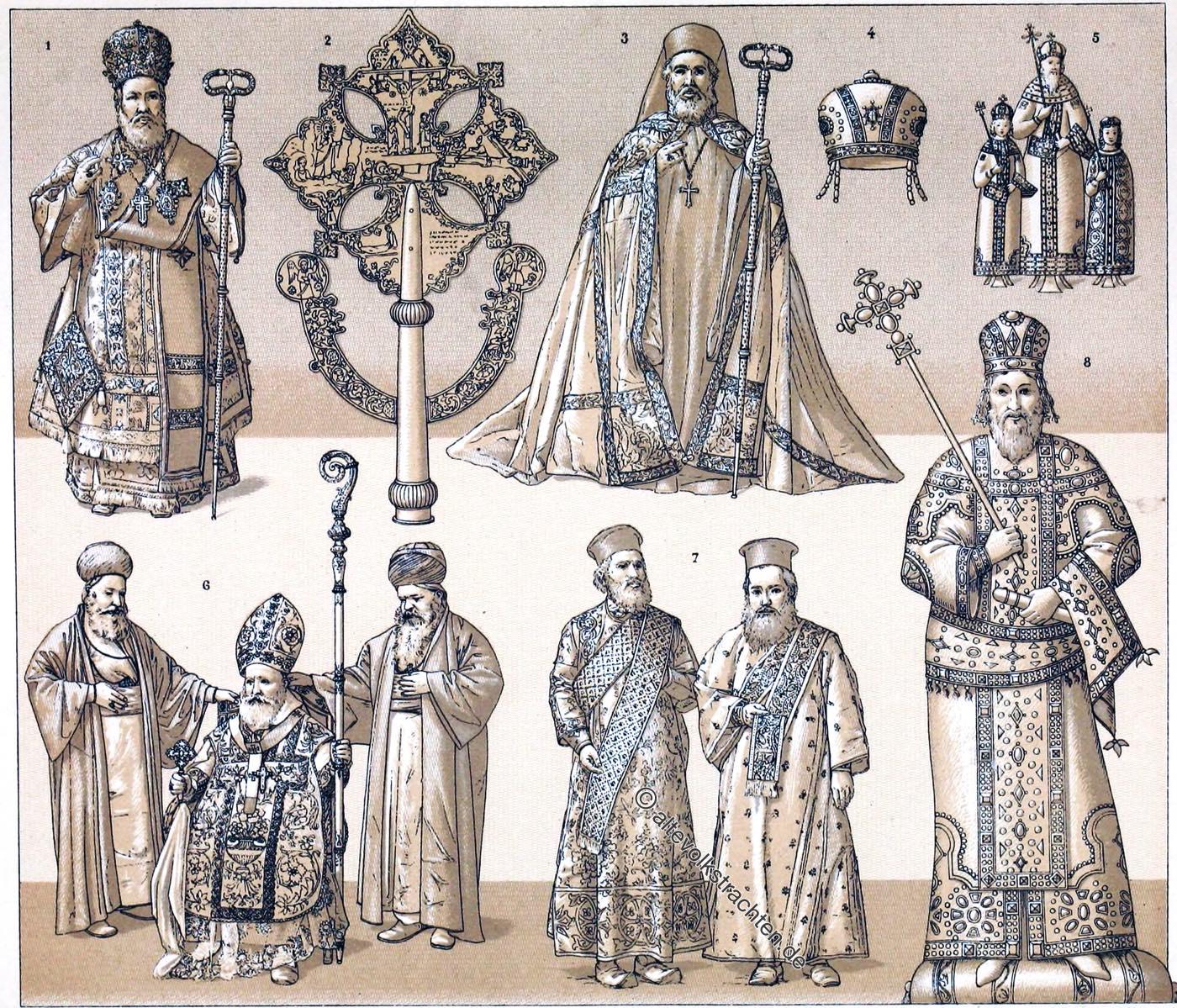 Byzanz, Abessinien, Tiara, Kaiser, Patriarchen