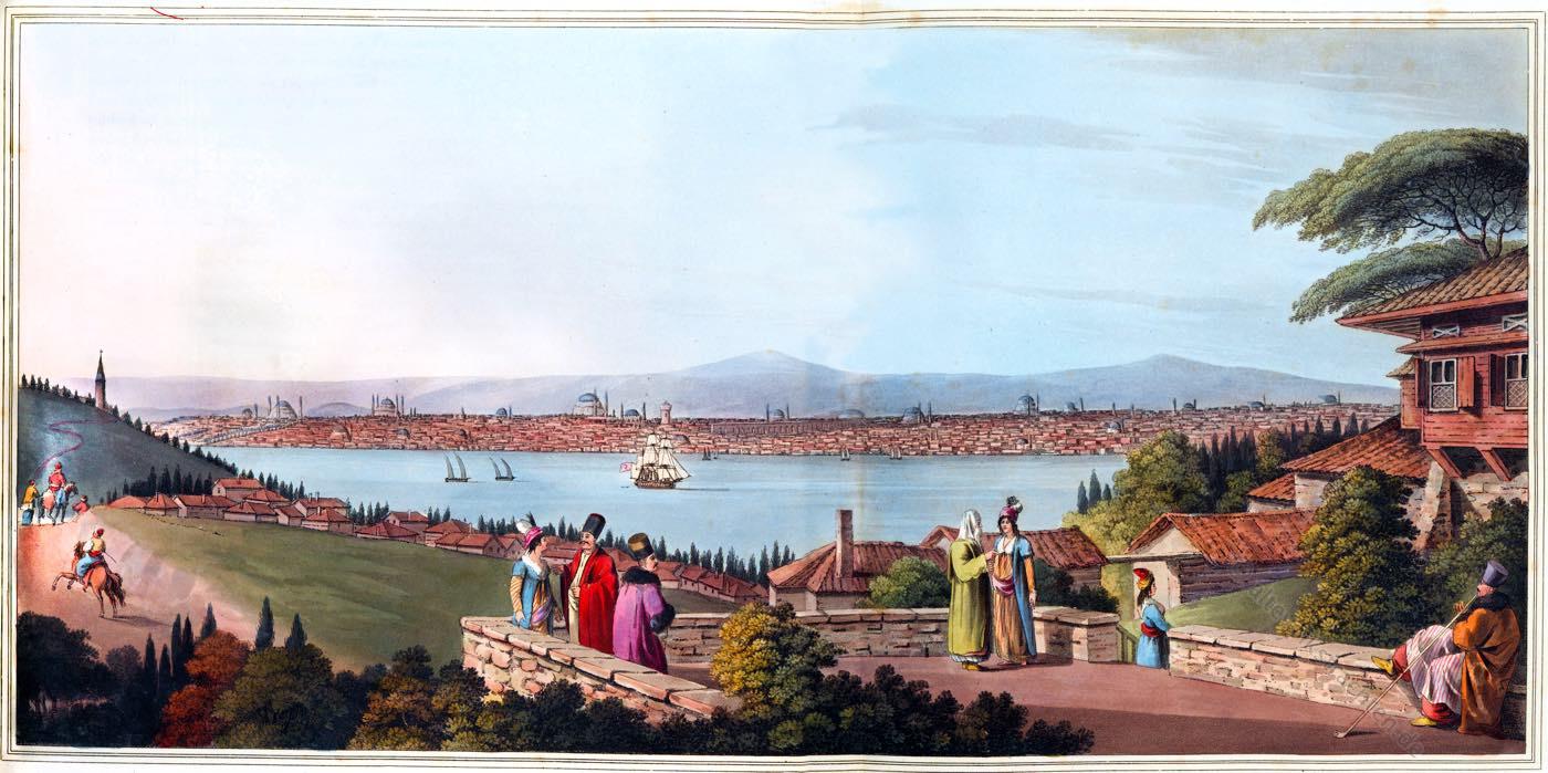 Türkei, Konstantinopel, Ansicht, Landschaft,