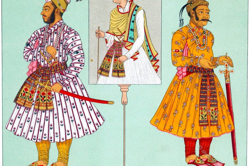 Indien, Muhammad Murad Bakhsh, Würdenträger, Mogulreich, Kaiser, Kostüme,