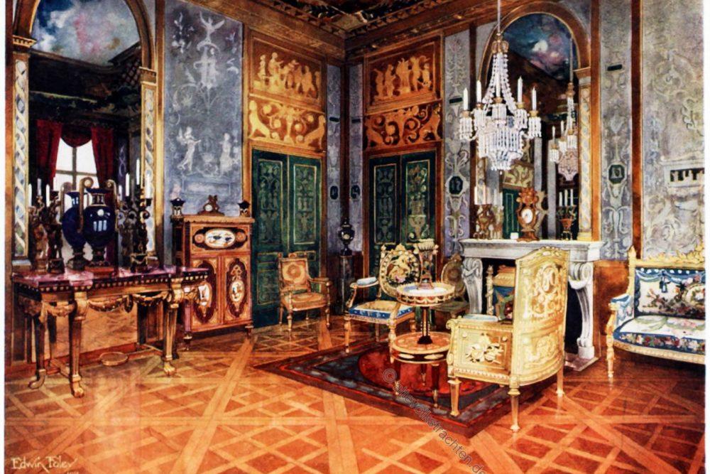 Fontainebleau, Salon, Königin, Marie Antoinette