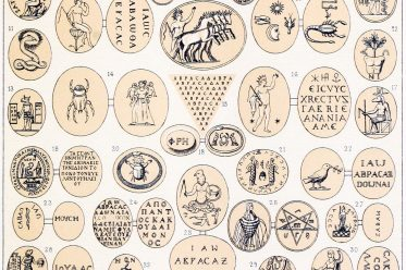 Rom, Amulettstein, Abraxassteine, Talismane, Amulett, Abraxasgemmen