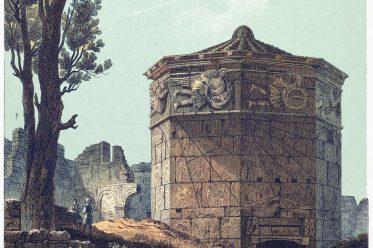 Antike, Architektur, Bauwerk, Griechenland, Turm, Winde, Athen