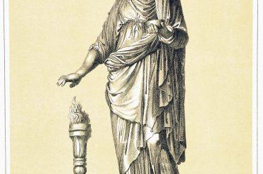 Vestalin, Vestalinnen, Priesterin, Rom, Kult, Vestalinnen, Kleidung, Kostüm, Tracht