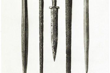 Schwerter-Sammlung, Antike, Schwerter, Dolche, etruskisch, römisch, keltisch