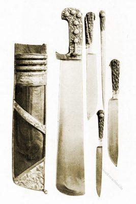 Jagdmesser, Plötze, Waffen, Barock,
