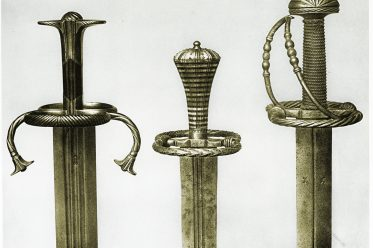 Landsknechtwaffen, Landsknechtsschwert, Katzbalger, Schwerter, Landsknechte, Blankwaffe, Waffen, Soldaten, Renaissance