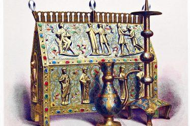 Limoges, Email, Reliquiar, Mittelalter, Kunsthandwerk,
