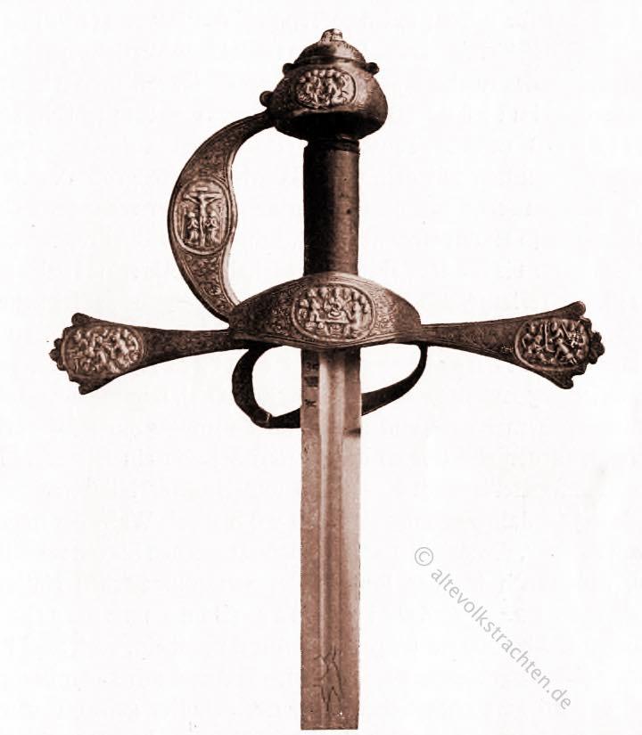 Reitschwert, Herzog, Braunschweig, Mittelalter, Waffen,