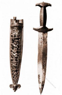 Schweizerdolch, Waffen, Renaissance, Schweiz, Waffen,