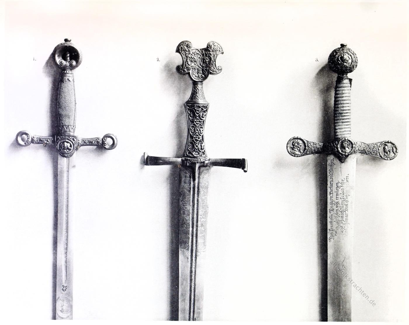 Schwerter, Renaissance, Frundsberg,