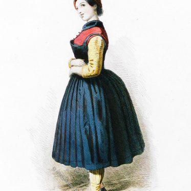 Schäferin aus Jennbach im Bezirk Schwaz in Tirol.