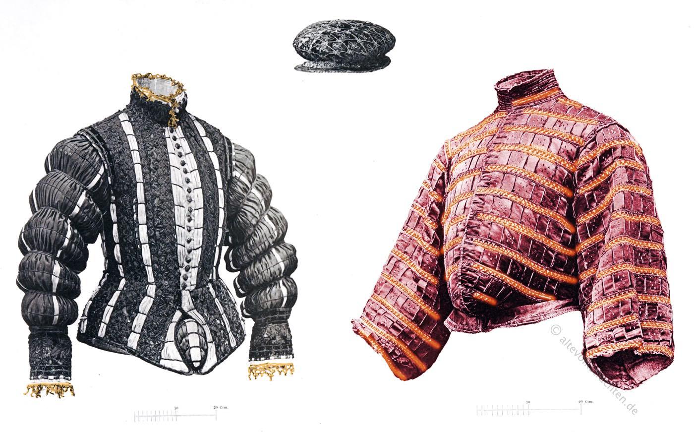 Wams, Gansbauch, Spanische Mode, Renaissance, Mode, Landsknechte