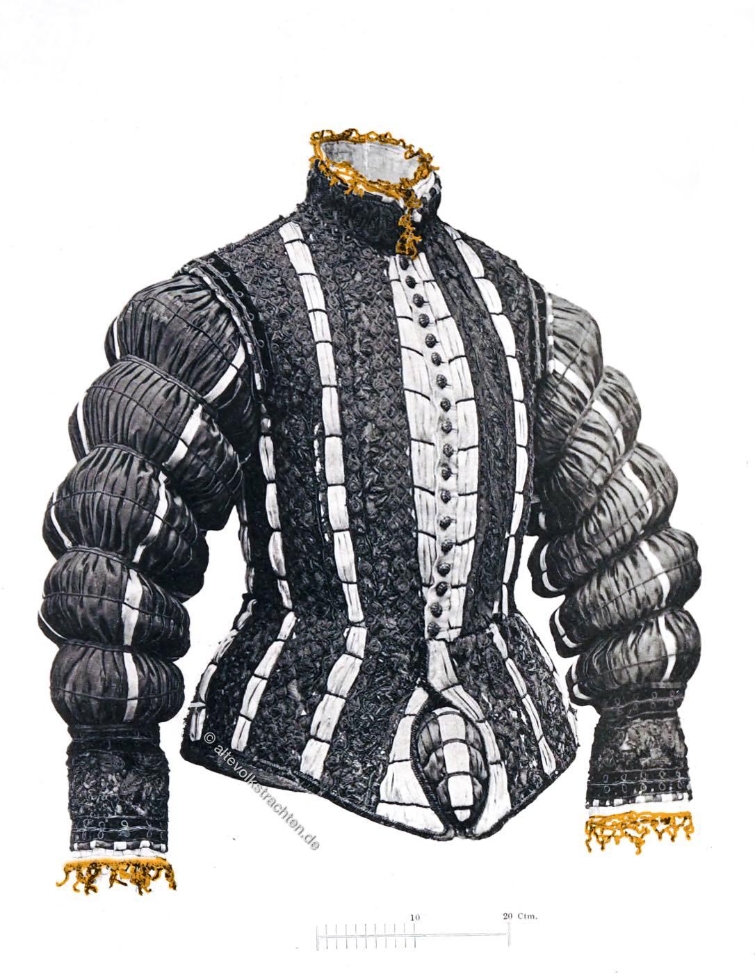 Wams, Gansbauch, Spanische Mode, Renaissance, Mode