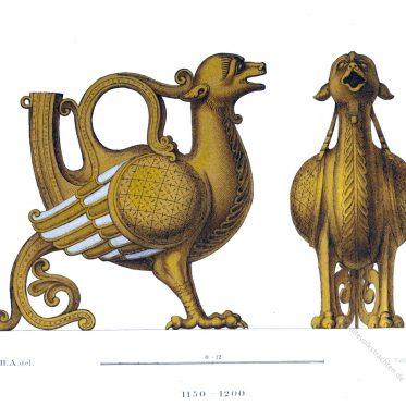Das Aquamanile. Mittelalterliche Gefäße in Gestalt von Tierfiguren u. a..