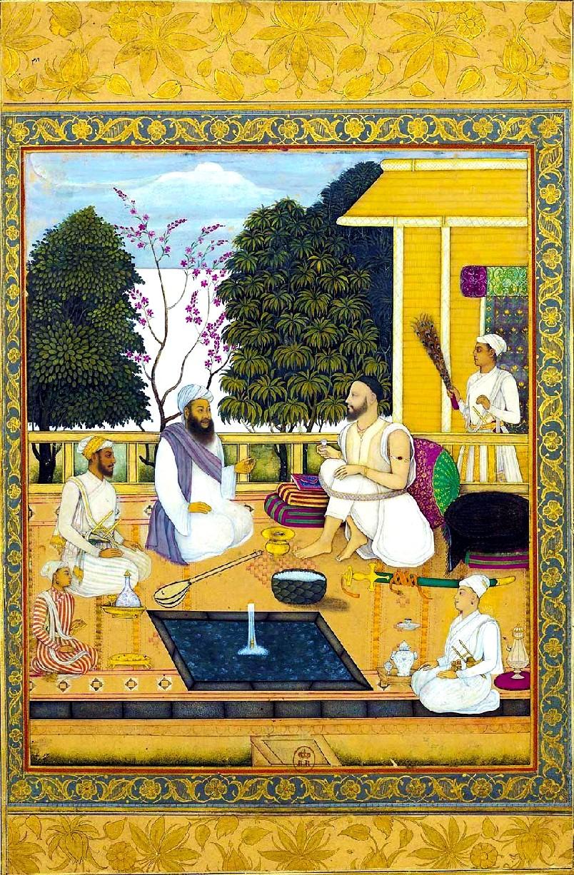 Indien, Miniatur, Malerei, Abul Hasan Qutb Shah, Golconda,