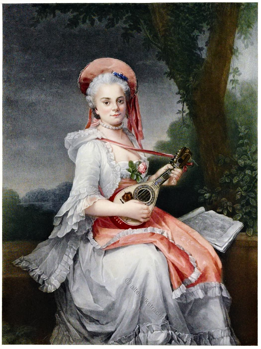 François-Hubert Drouais, Maler, Rokoko, Künstler, Portrait, Frankreich, Gemälde,