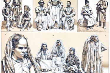 Indien, Kostüme, Trachten, Kaschmir, Odisha, Himachal Pradesh, Rajasthan