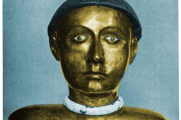 Kopfreliquiar, Bust reliquary, Buste-reliquaire, Busto reliquiario, Romanik, Mittelalter, Kunsthandwerk, Liturgie, Sakrale Kunst