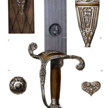 Kriegsschwert des Kurfürsten Maximilian von Bayern. 17. Jh.