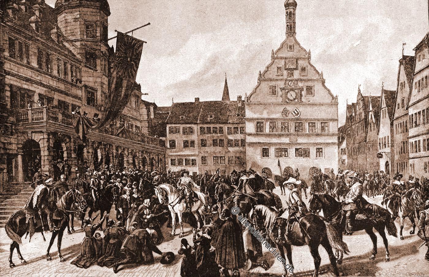 Meistertrunk, Tilly, Rothenburg, tauber, Dreißigjähriger Krieg,