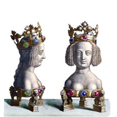 Reliquiarium aus dem Übergang des 14. in das 15. Jahrhundert