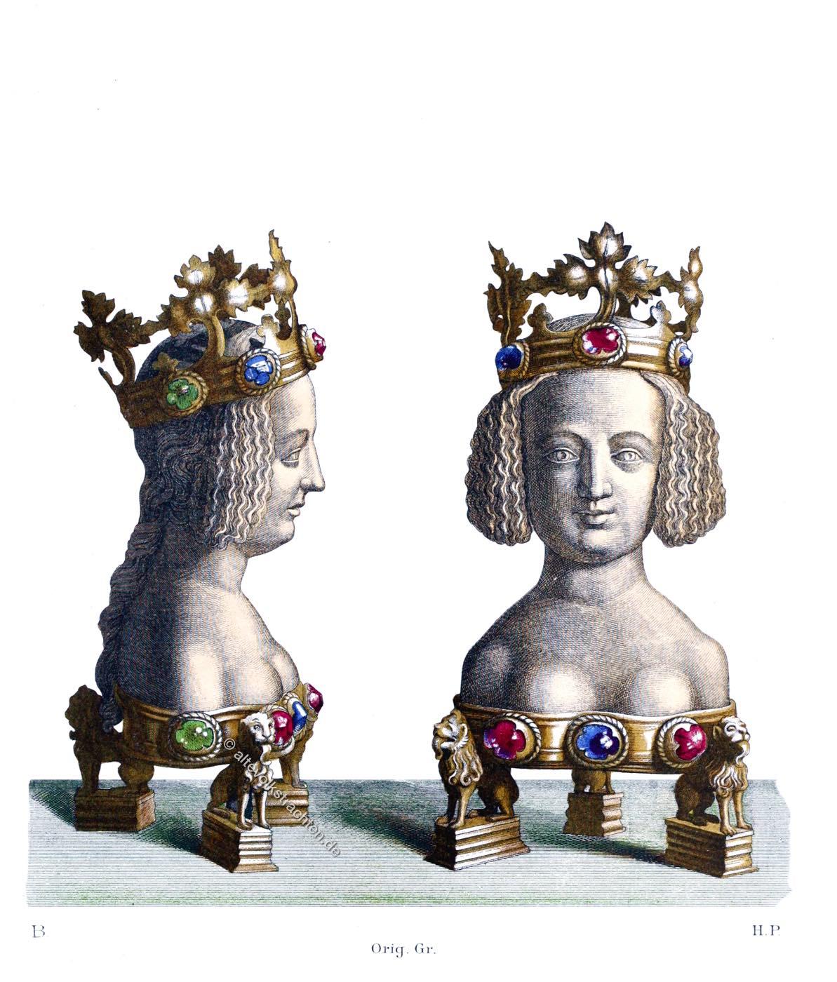 Reliquiarium, Reliquienbehälter , sakral, Volkskunst, Mittelalter, Hefner-Alteneck
