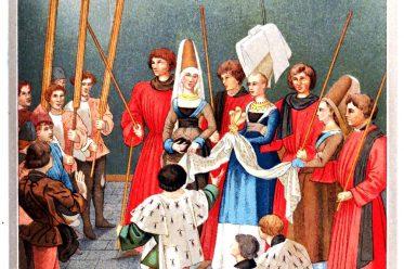 Miniature, prix, Tournoi, roi, René, Turnierbuch, Turnierpreis