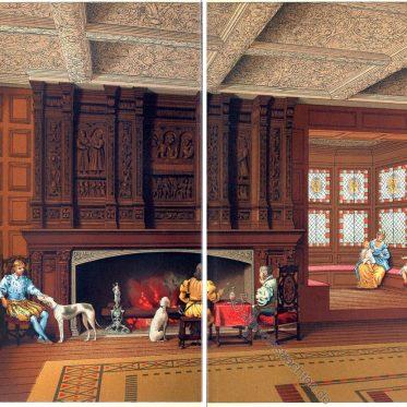 Speke Hall. Tudorstil aus der Zeit der englischen Königin Elisabeth I.