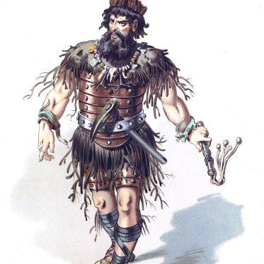 Alberich. König der Elfen. Der Ring des Nibelungen.