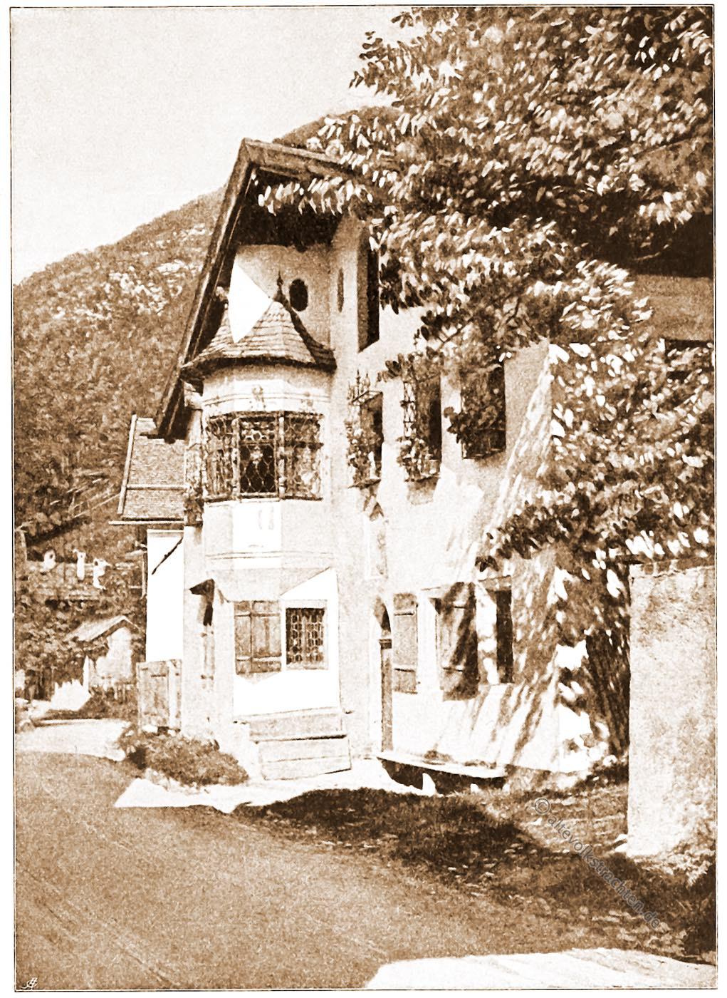 Bozen, Tirol, Architektur, Österreich, Stadtansicht, Hartwig, Fischel, Wahrzeichen,