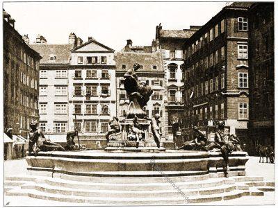 Neuer Markt, Wien, Brunnen,