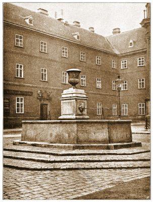 Piaristenplatz, Wien, Brunnen, Österreich, Architektur, Hartwig Fischel,
