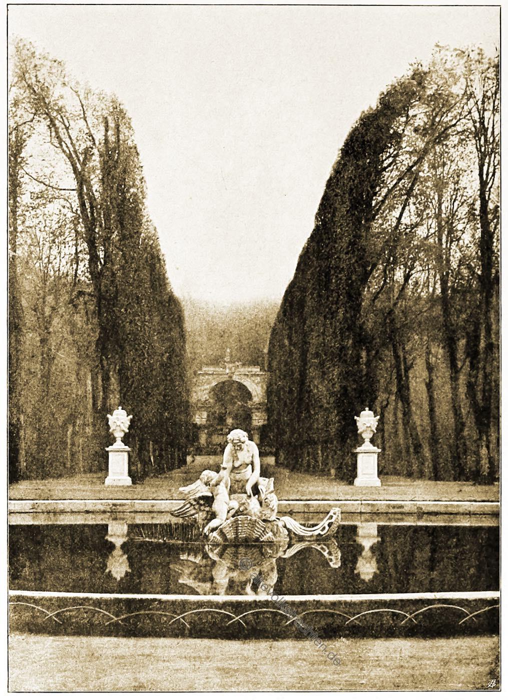 Wien, Brunnen, Österreich, Architektur, Schönbrunn, Park, Hartwig Fischel,