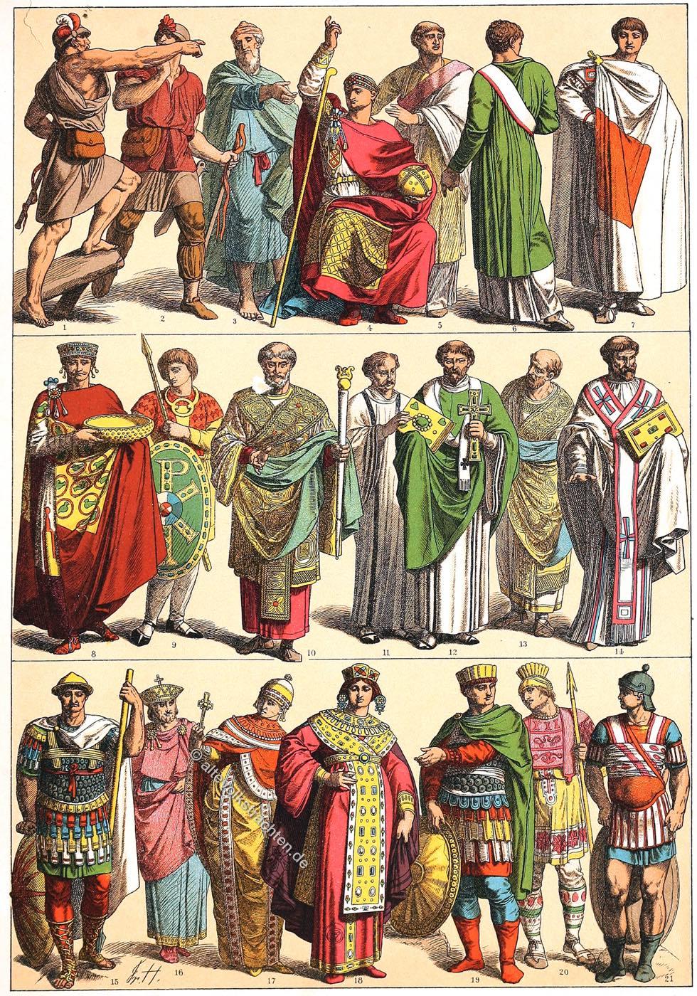 Basileus, Basilissa, Byzanz, ostrom, oströmisches Reich, Kaiser, Kostümgeschichte,