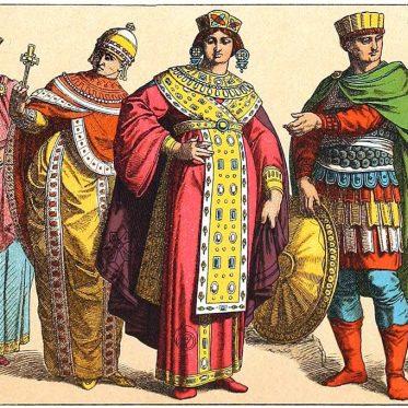Byzanz. Die Byzantiner. Kostümgeschichte des oströmischen Reiches.