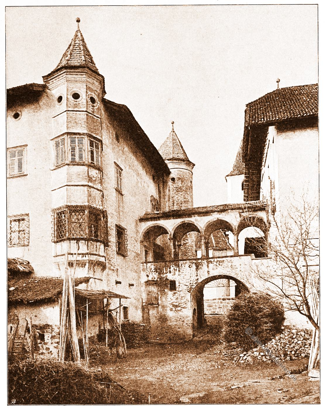 Eppan, Tirol, Architektur, Österreich, Stadtansicht, Hartwig, Fischel, Wahrzeichen,
