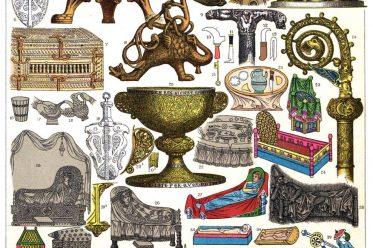 Hochmittelalter, Gegenstände, Utensilien, Kulturgeschichte, Deutschland,