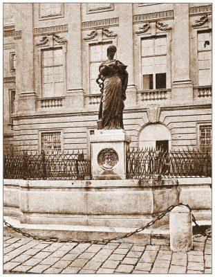 Hygiea-Brunnen, J. M. Fischer , Wien, Brunnen, Österreich, Architektur, Hartwig Fischel,