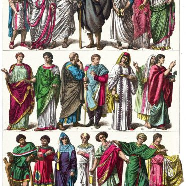 Italiener aus der römischen, frühchristlichen und byzantinischen Epoche.