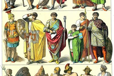 Antike, Tribun, Gladiator, Gewandung, Römer, Kostüme, Friedrich Hottenroth,