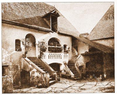 Spitz, Bauernhof, Wachau, Architektur, Österreich, Stadtansicht, Hartwig, Fischel, Wahrzeichen,