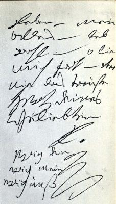 Beethoven, Brief, Unsterbliche Geliebte,