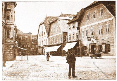Waidhofen, Ybbs, Architektur, Österreich, Stadtansicht, Hartwig, Fischel, Wahrzeichen,