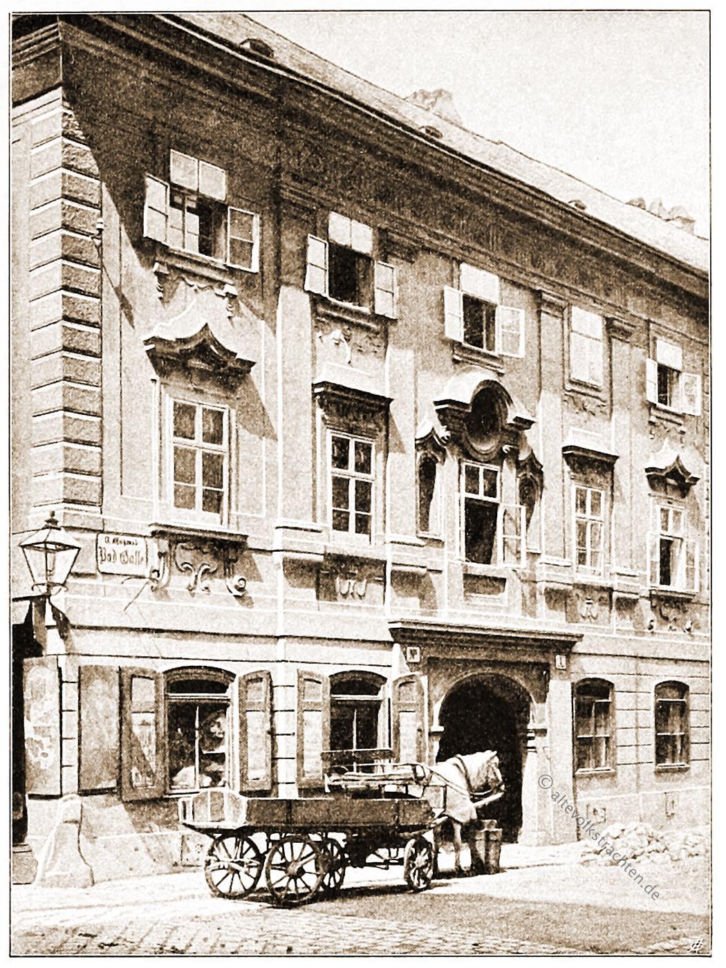 Wien, Wohnhaus, Badgasse, Architektur, Österreich, Stadtansicht, Hartwig, Fischel,