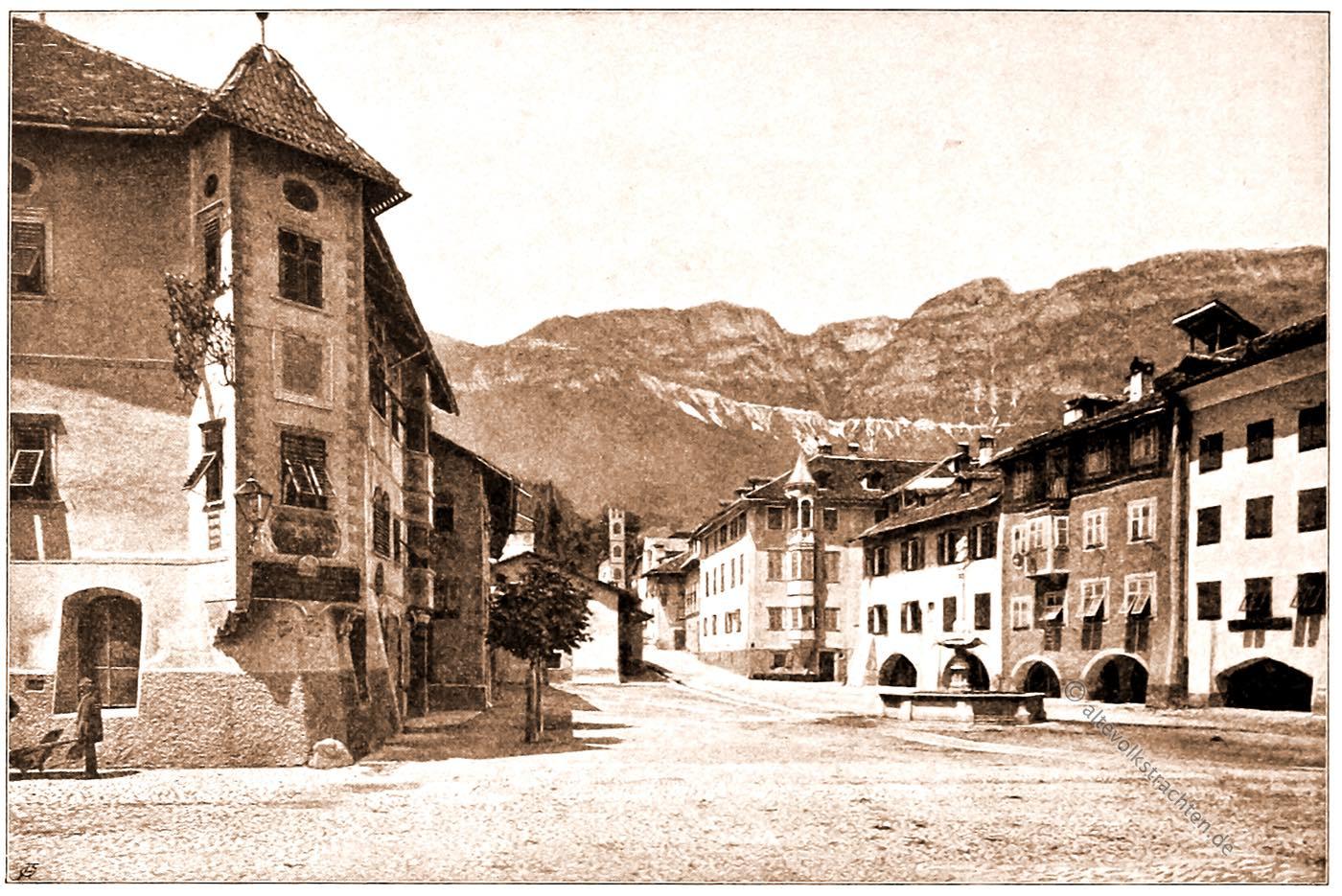 Stadtansicht,, Zentrum, Kaltern, Tirol, Architektur, Österreich, Hartwig, Fischel,